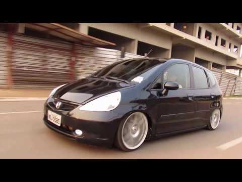 Honda Fit | #é FIXA boy# | nas 17 | *baixo pra Carai*. CANAL CARS CUSTOMS.