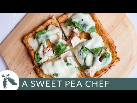 How To Make Cauliflower Pizza Crust: A Sweet Pea Chef