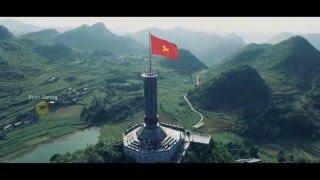 [FlyCam] Cột cờ Lũng Cú - Hà Giang