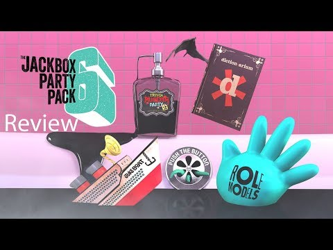 Jackbox Party Pack 6 Gameplay Review (5 Games)