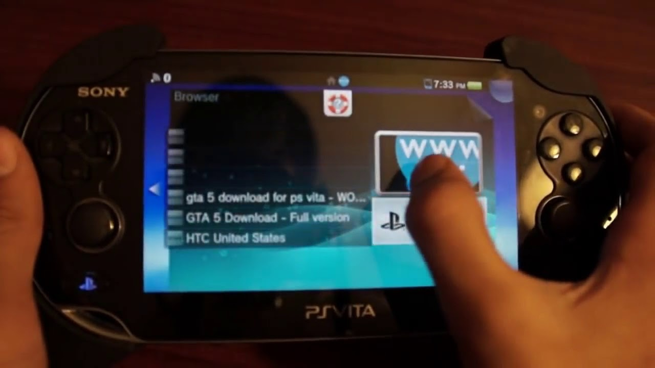 How to download psp psvita games
