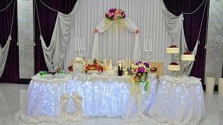 Начало свадебного банкета в ресторане Мечта г. Адлер