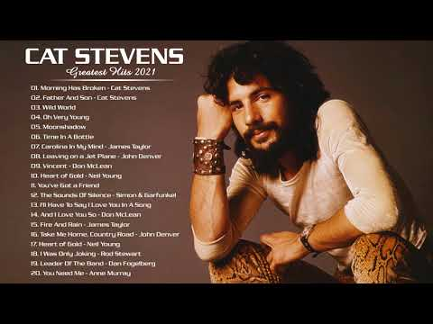 Cat Stevens Greatest Hits Full Album - Folk Rock And Country Collection 70's/80's/90's indir