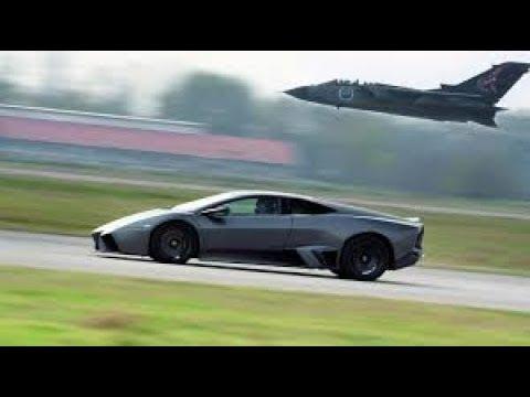 Lamborghini Reventon Vs Fighter Jet Youtube