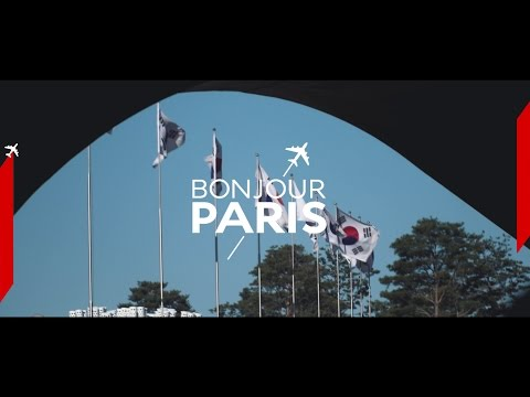 Air France Bonjour Paris in Seoul