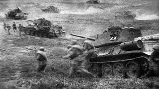 Битва под Прохоровкой. Крупнейшее танковое сражение Великой Отечественной войны.