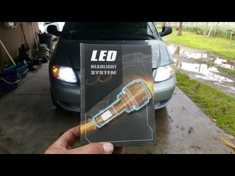 How to: Install LED Headlights on a 2004 Dodge Grand Caravan