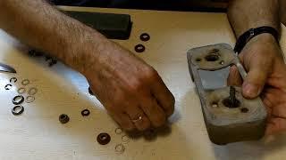 замена сальников на хлебопечке Мулинекс