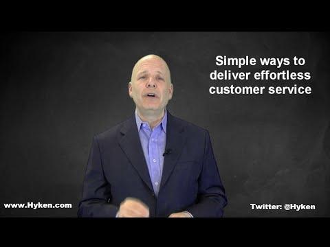 Customer Service Speaker Shares Effortless Customer Service in Action
