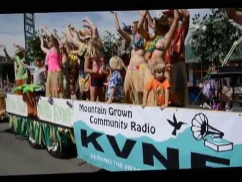 KVNF Radio Fiji Float