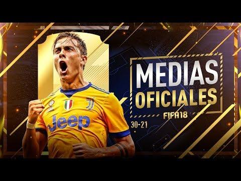 FIFA 18 | MEDIAS OFICIALES | 30-21 ... DYBALA !!