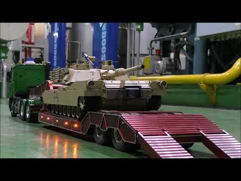 Tamiya M1a2 Tank & Arocs