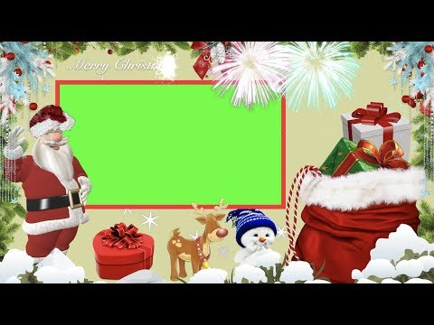 Green Screen Hd Christmas Weihnachten Frame Background Cute Animations Free Download No Copyright
