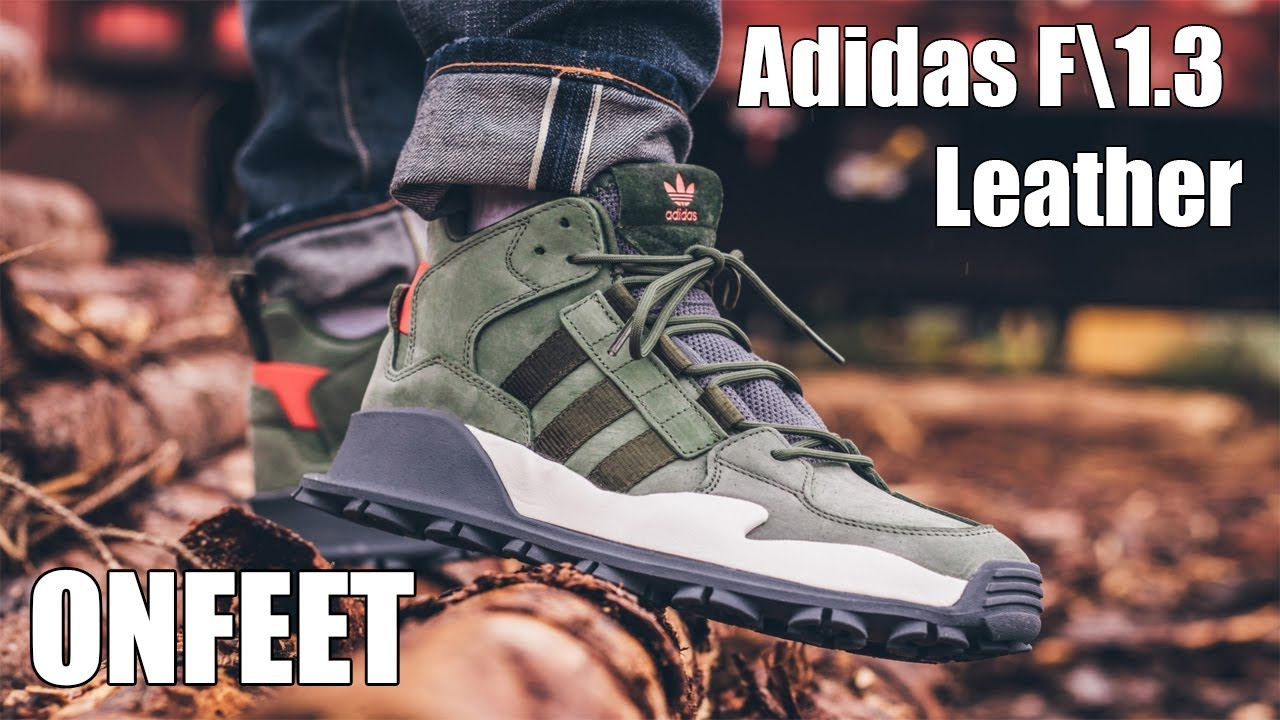 Asentar Lío Impotencia  ONFEET Adidas F\1.3 Leather Green\Red (B28058) - YouTube