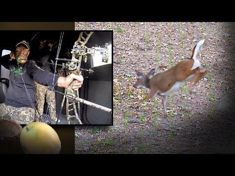 Redneck Bow Hunting Action: Deer Down (#202) @GrowingDeer.tv