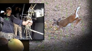 Redneck Bow Hunting Action: Deer Down