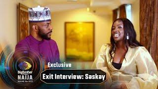 "BBNaija Gist: 'I didn't believe Cross liked me."" – Saskay | Big Brother: Shine Ya Eye | Africa Magic"