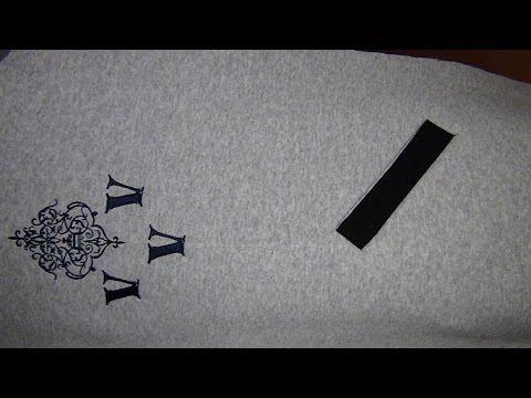 Как сшить бомбер 1: карманы «листочка»