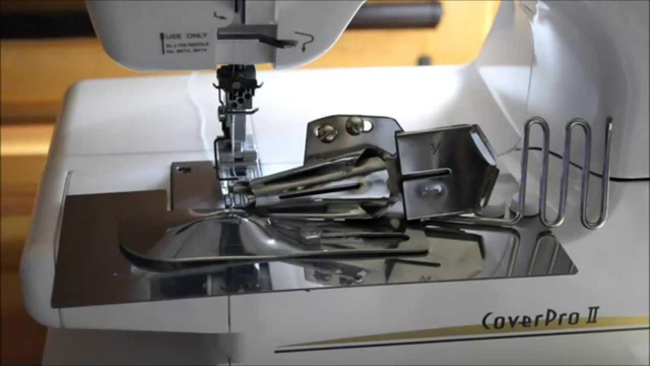 Распошивальная машина Janome Cover Pro 7 - обзор преимуществ - YouTube