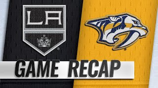 Roman Josi recorded a goal and an assist, while Pekka Rinne made 28...