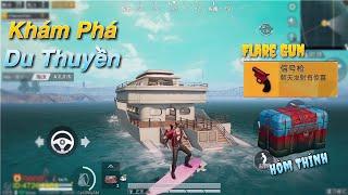 PUBG Mobile | Khám Phá Du Thuyền - Nơi Cực Giàu và Luôn Có Flare Gun √