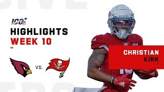 Christian Kirk's Hat Trick Day! | NFL 2019 Highlights