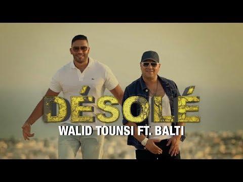 Walid Tounsi Ft. Balti - Désolé (Exclusive) | (وليد التونسي فيت بلطي - ديزولي (فيديو كليب حصري