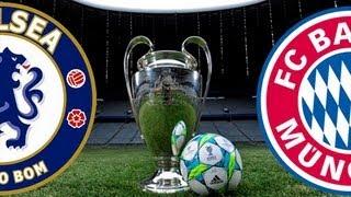 FIFA 12 Chelsea vs Bayern Munich  UEFA Champions League Final - Simulation 