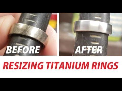 How To Resize A Titanium Wedding Band