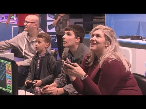 Family Video Gaming Night at The Centre for Computing History