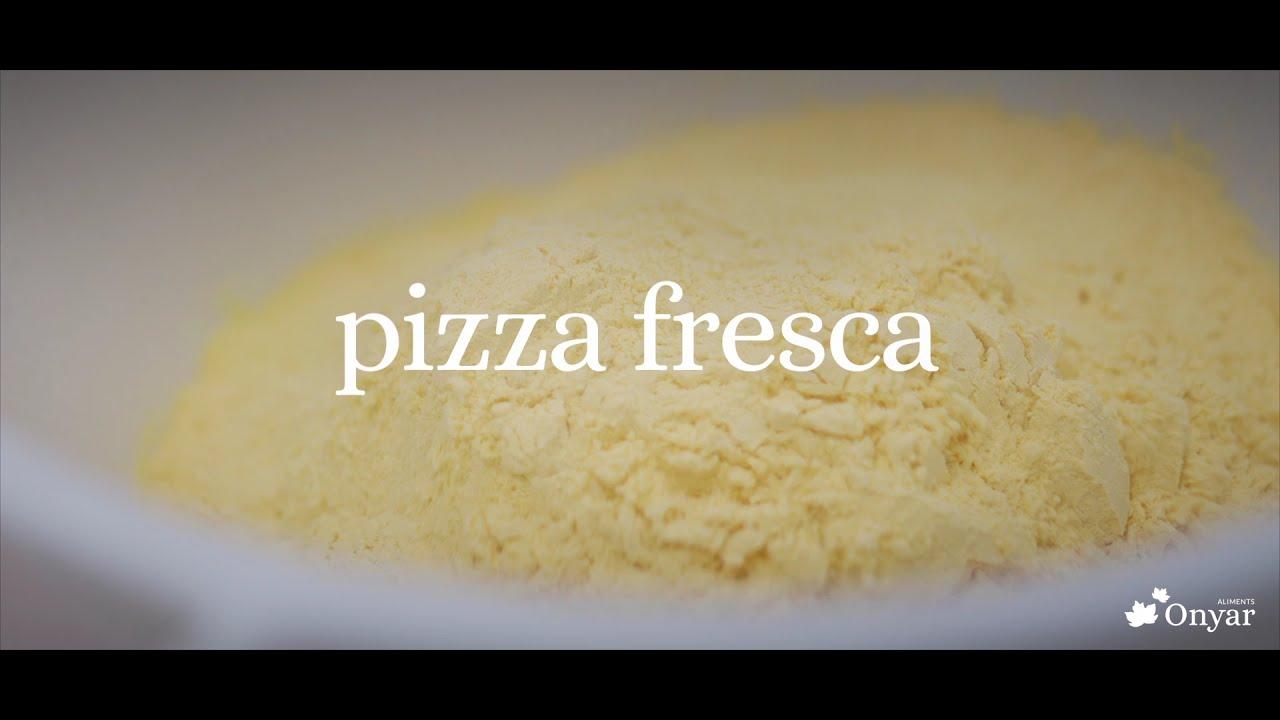 Así hacemos nuestras pizzas ecológicas