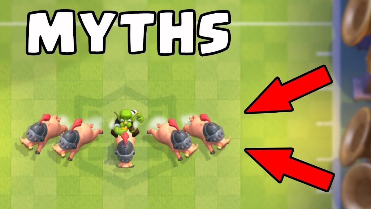 Top 10 des mythes à Clash Royale | Mythes # 11 + vidéo