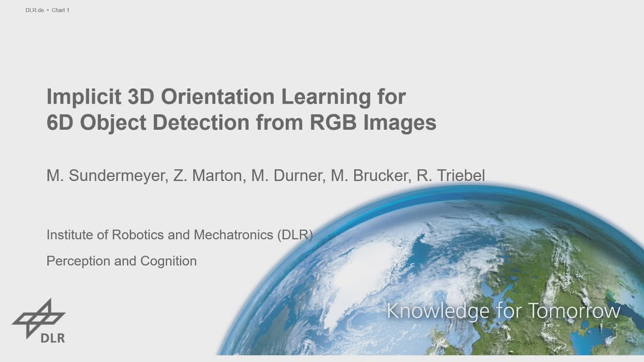 Papers With Code : Implicit 3D Orientation Learning for 6D