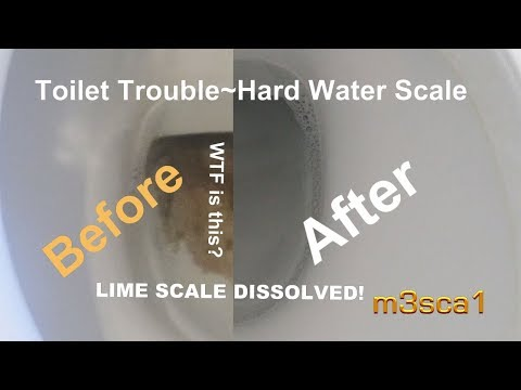 TOUGH TOILET Lime Scale! Cleaned