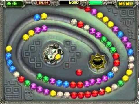 Zuma Bubble Shouter Game Youtube
