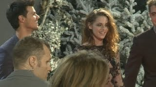 Robert Pattinson, Kristen Stewart and Taylor Lautner express their ...