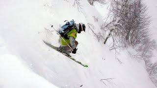 Фрирайд в горах на горных лыжах | Пухляк | Красная поляна