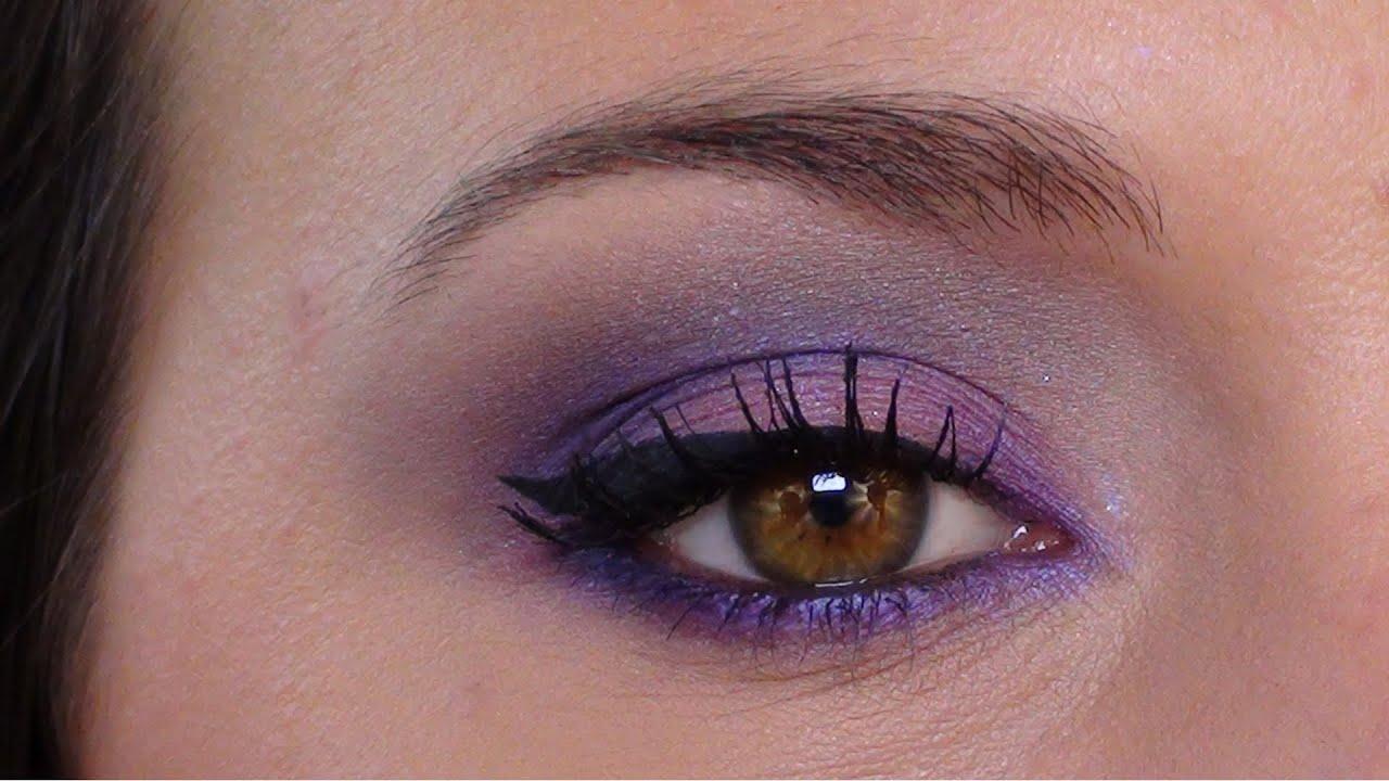 maquillage punch rose et violet tutoriel printannier youtube. Black Bedroom Furniture Sets. Home Design Ideas