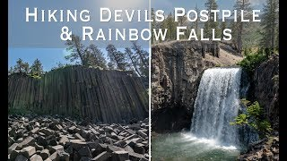 Hiking to Devils Postpile, Rainbow Falls and Reds Meadow in Devils Postpile National Monument
