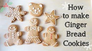 [Christmas Recipe 聖誕食譜]How to make Gingerbread Cookies 薑餅人
