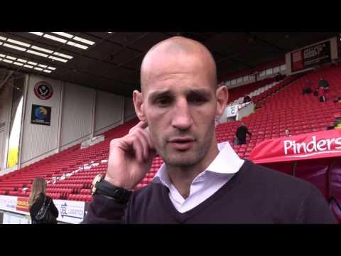 Rob Jones post Sheffield United