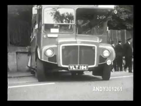 249a bus accident 1960 chingford mount