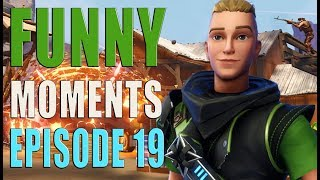 Funny And Lucky Moments - Fortnite Battle Royale - Ep.19