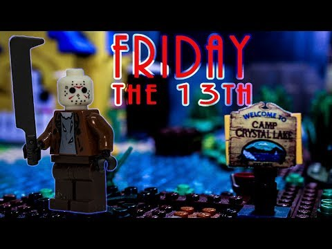 LEGO Friday The 13th Stop Motion