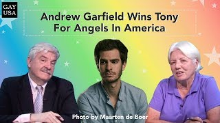 Gay USA: Andrew Garfield Wins Tony For Angels In America