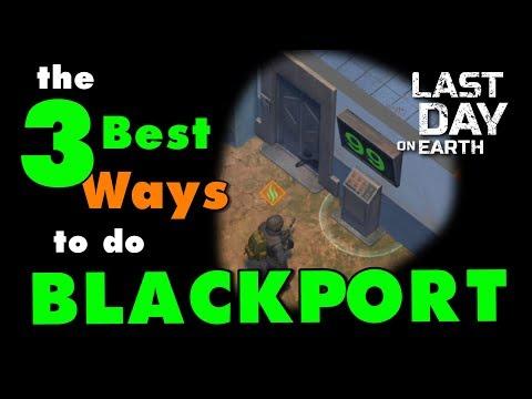Last Day On Earth Kantor Polisi! 3 Cara Terbaik Untuk Melakukan Blackport PD