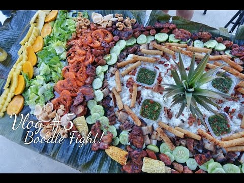 Vlog #5 - First Boodle Fight! Happy 4th!