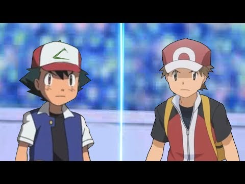 Pokemon Multiverse Episode: Kanto Ash Vs Red Origin (Pokemon Anime Vs Pokémon Origins)