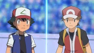 Pokemon Battle USUM: Kanto Ash Vs Red Origin (Pokemon Anime Vs Pokémon Origins)