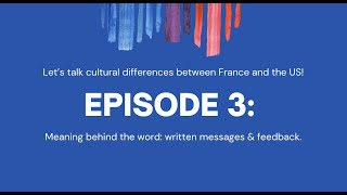 Can We Agree to Disagree? : Episode 3 - Meaning behind the word: Written messages & feedback